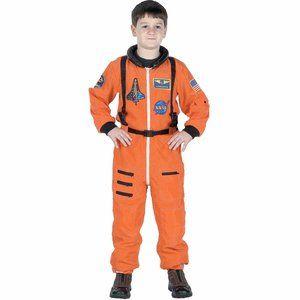 NASA Astronaut Space Suit w Hat Unisex Costume 4/6